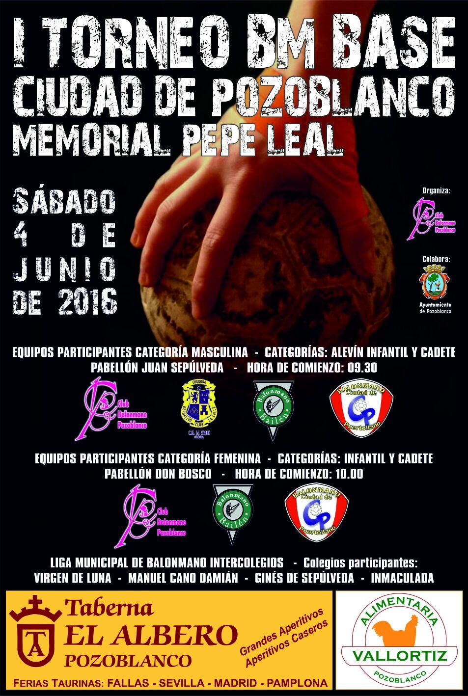Torneo Base Pepe Leal