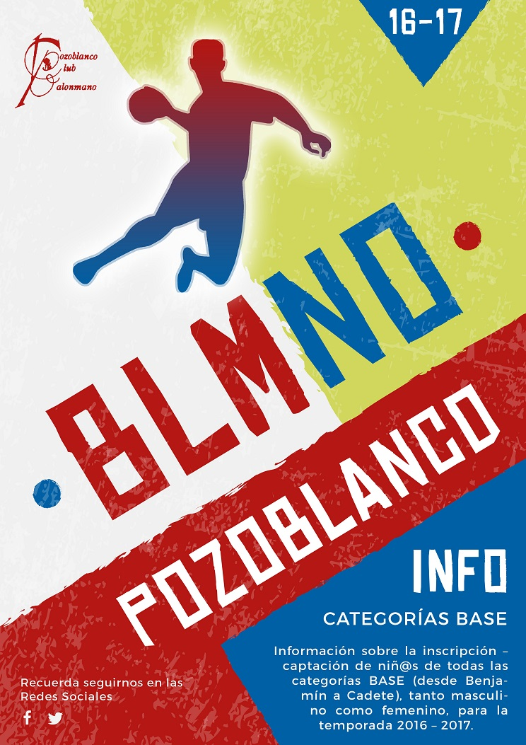 Folleto Escuela Balonmano